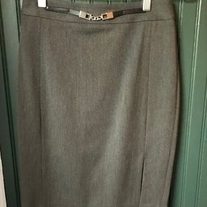 Express pencil skirt - size 0 - grey